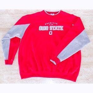 NCAA Ohio State Buckeyes red sweatshirt